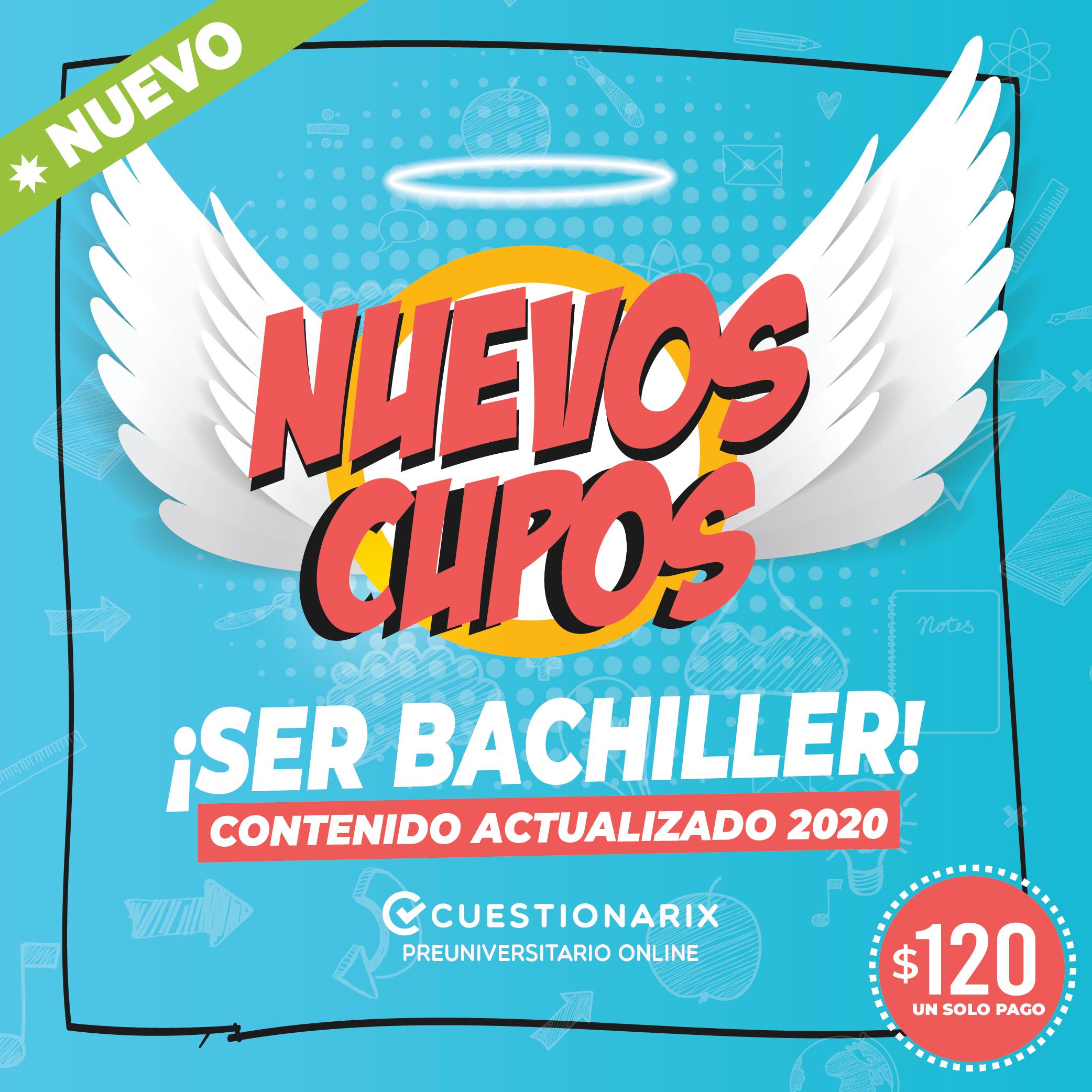 Nuevo Curso Ser Bachiller 2020