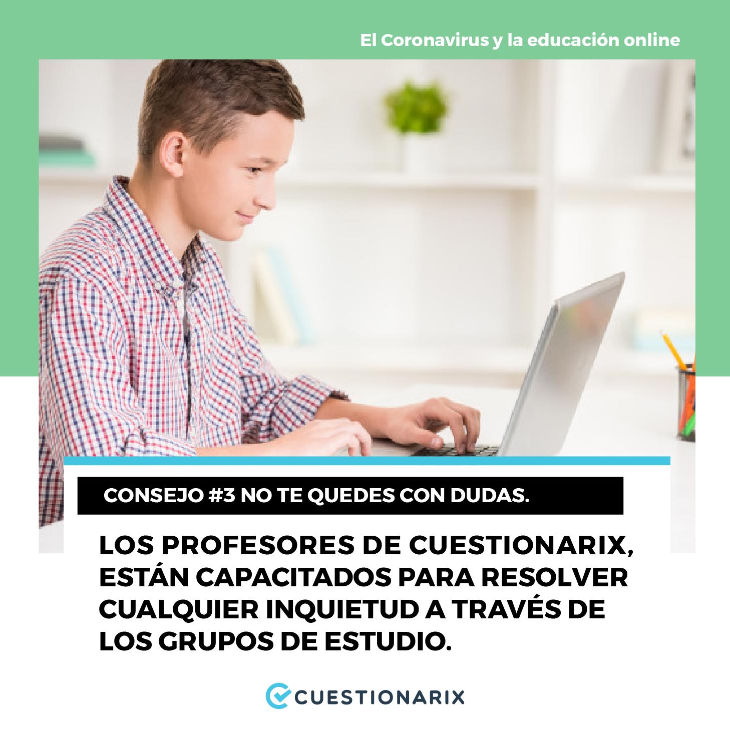 El Coronavirus y la educación online